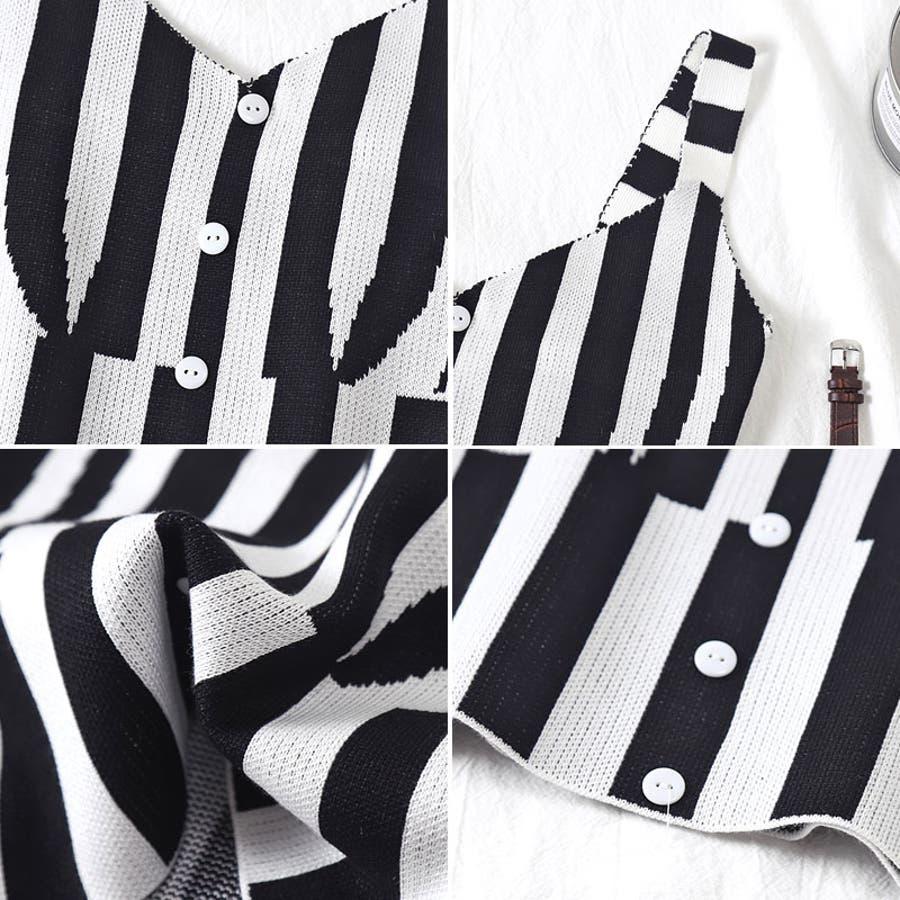 ストライプ ビスチェ キャミ キャミソール タンクトップ ノースリーブ タンクトップ 衣装 イベント 10