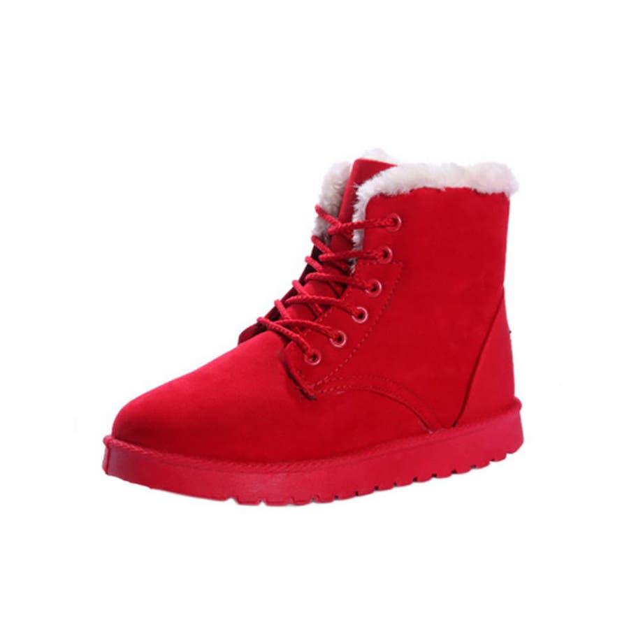「全9色」「全5サイズ」ムートンブーツ ボア ボフブーツ ムートン 美脚脚長 ショートブーツ 保温 フラットヒール秋冬アンクル丈ふわふわ フェイク ファー ショート レディース 靴 ローヒール やわらか あったか 冷え性 滑らない 疲れにくい 98