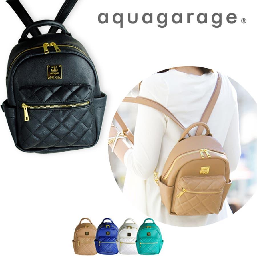 74f1a510ac51 ミニリュックサック キルティング 2way ショルダーバッグ ボディバッグ 収納 ポケット レザー調 鞄 バッグ 黒