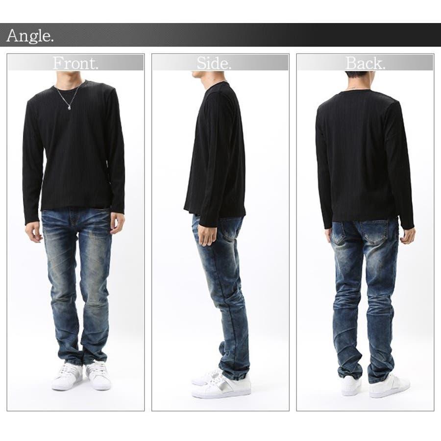 ロングTシャツ メンズ インナー 3