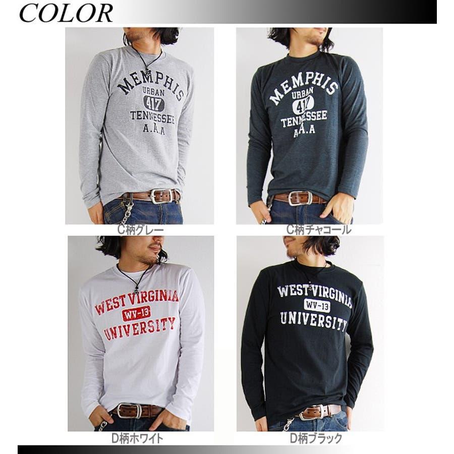 「お待たせしました!」 ◆ Tシャツ メンズ 長袖 アメカジTシャツ Men's T-SHIRTS TEE Tシャツ メンズTシャツトラッド アメカジ ロング 人気 【RCP】(プリント/ブラック/白/ホワイト/ロング丈/通販/) 2