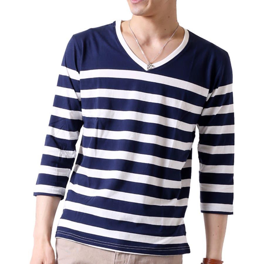 ボーダー Tシャツ メンズ 64