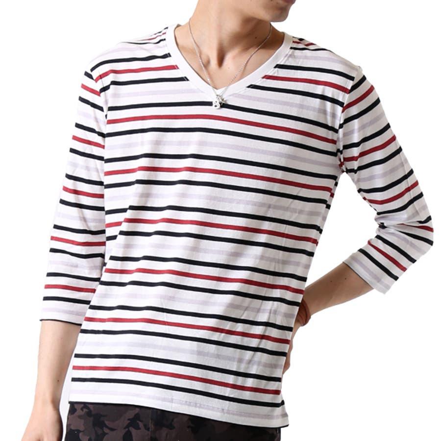 ボーダー Tシャツ メンズ 108