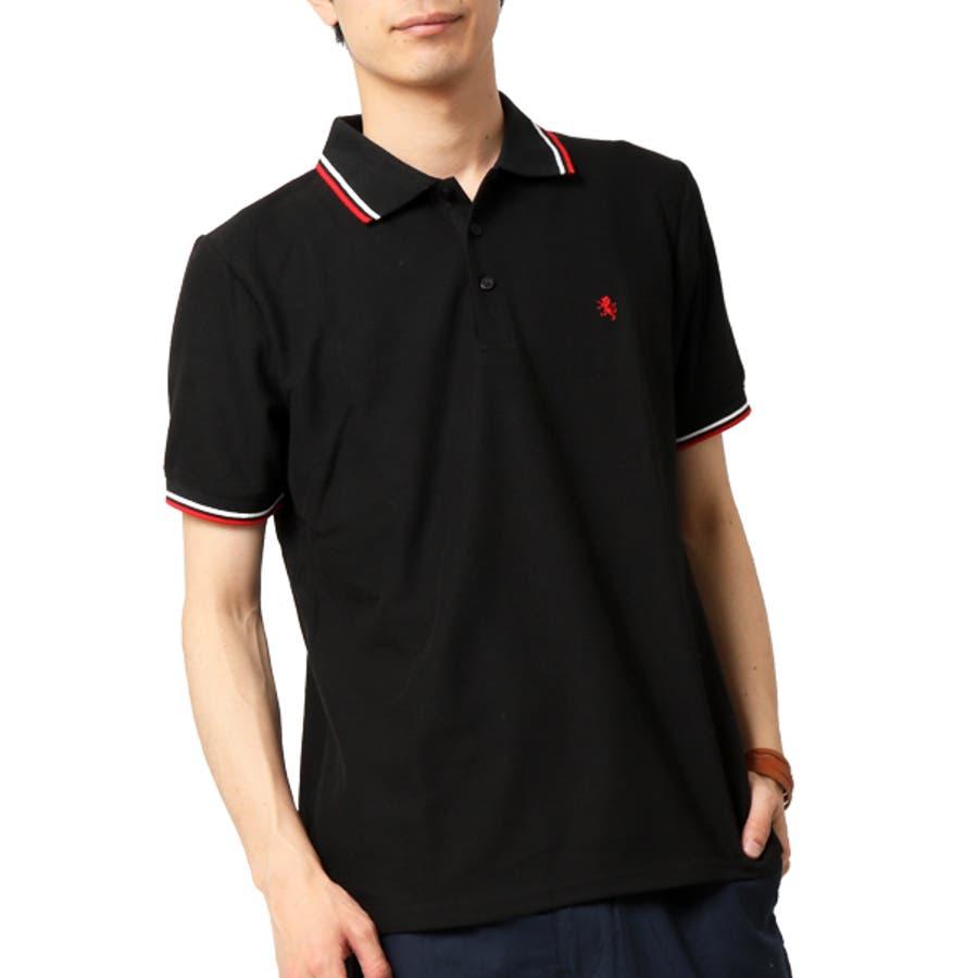 ポロシャツ メンズ 半袖 21