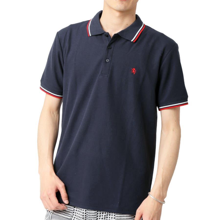 ポロシャツ メンズ 半袖 64