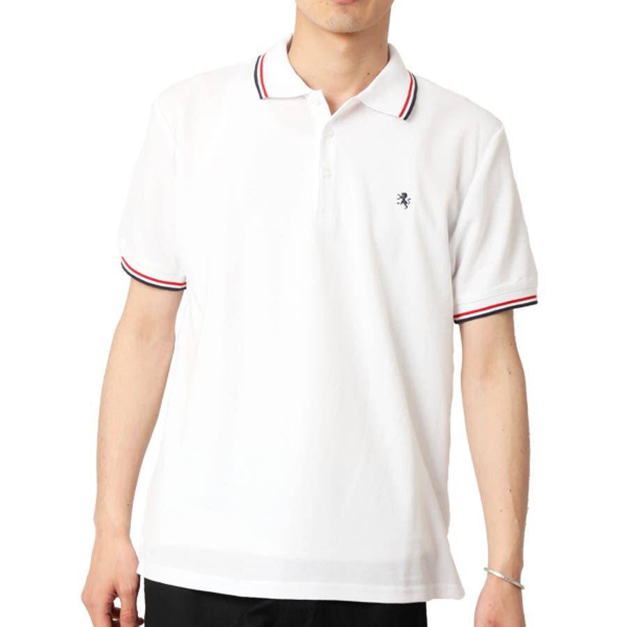 ポロシャツ メンズ 半袖 16