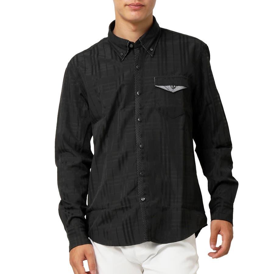 2枚衿 ドビー織り ボタンダウンシャツ 21