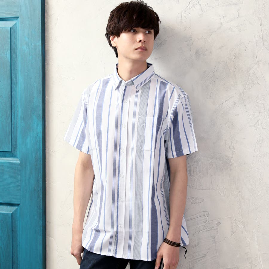 カジュアルシャツ ボタンダウンシャツ メンズ 108