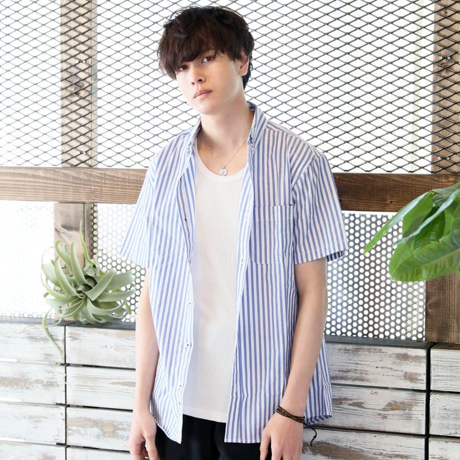 カジュアルシャツ ボタンダウンシャツ メンズ 76