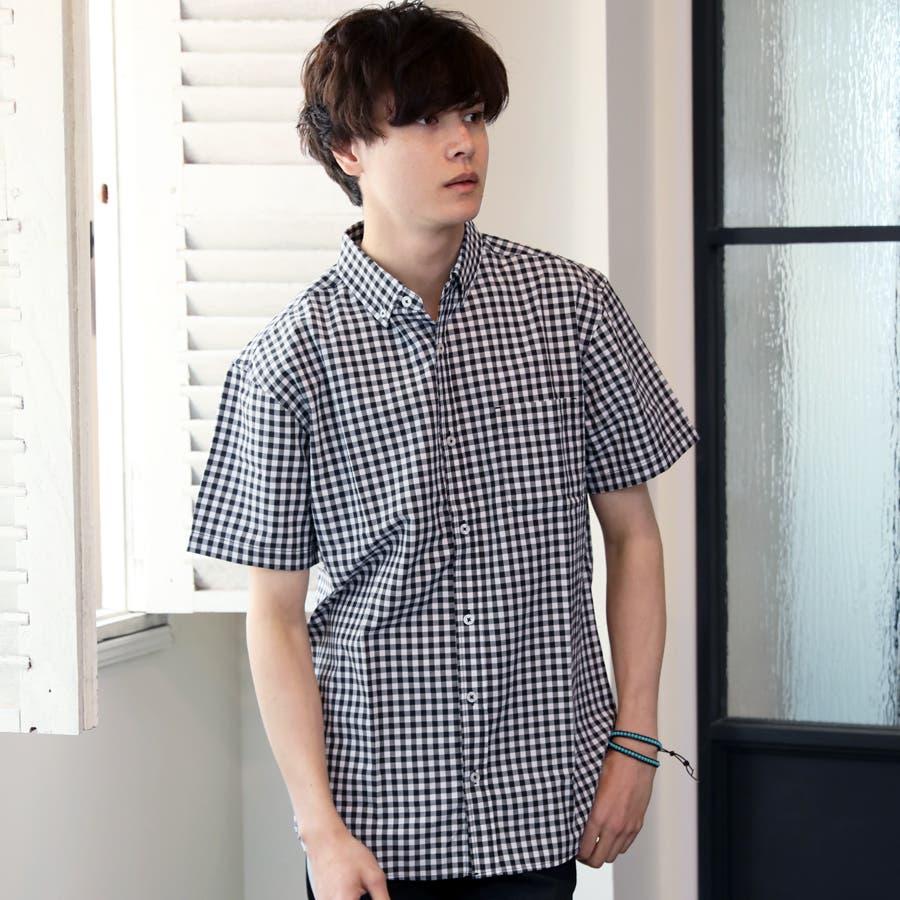 カジュアルシャツ ボタンダウンシャツ メンズ 22