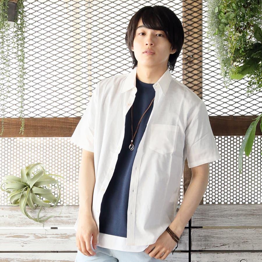 半袖シャツ メンズ リネンシャツ 16