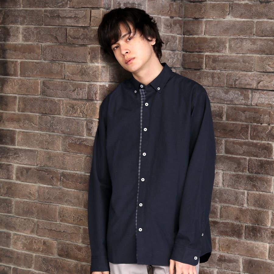 カジュアルシャツ ボタンダウンシャツ メンズ 64