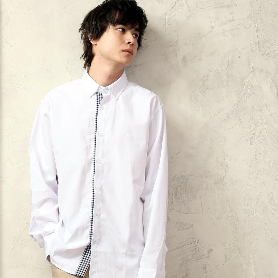 カジュアルシャツ ボタンダウンシャツ メンズ 16