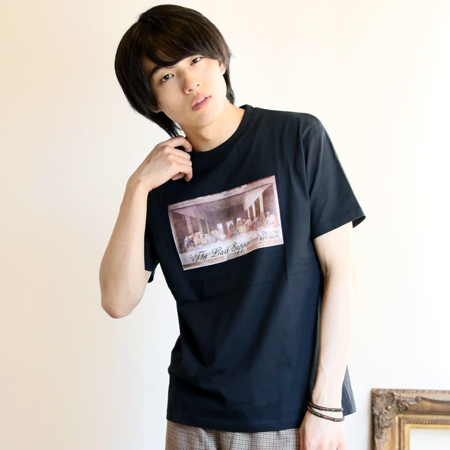 プリントTシャツ メンズ 半袖 21