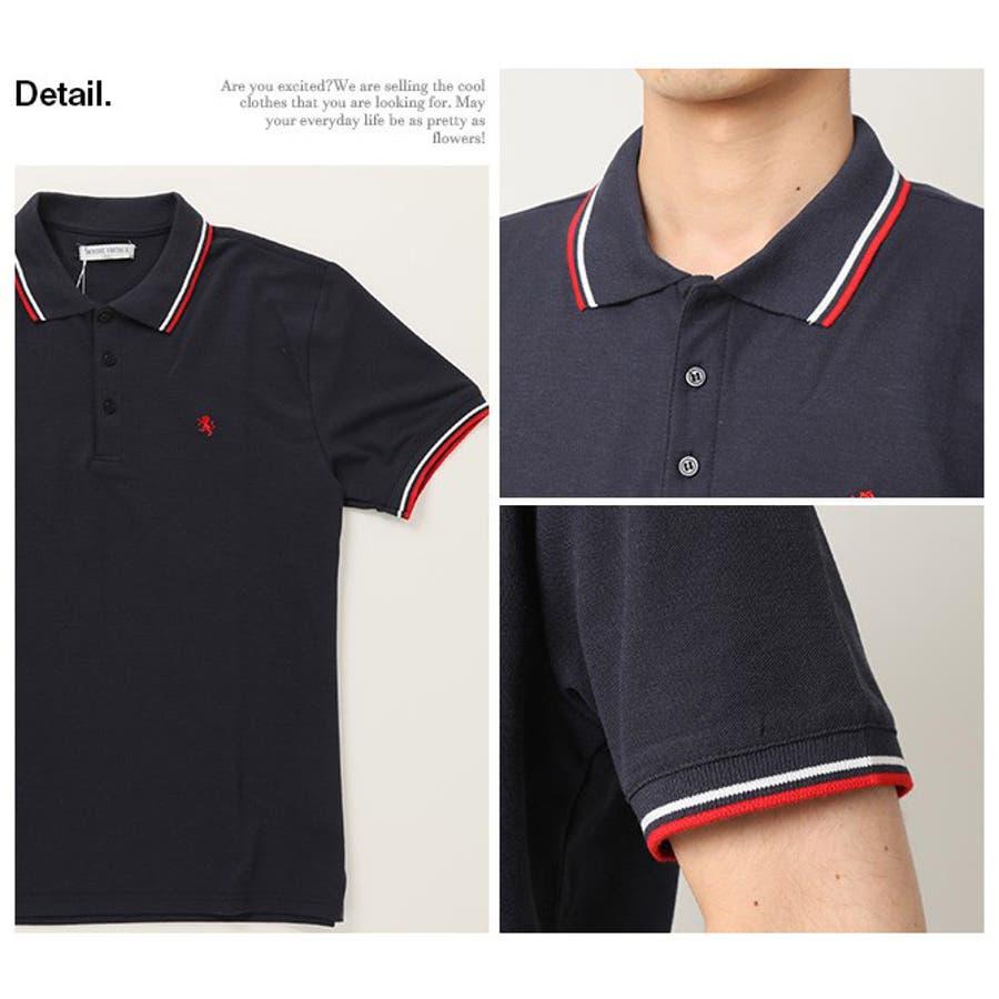 ポロシャツ メンズ 半袖 4