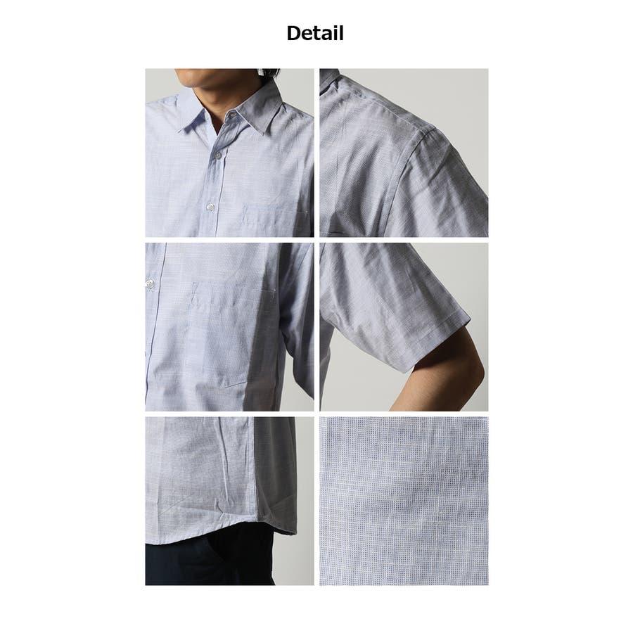ダンガリーシャツ メンズ 七分袖 4