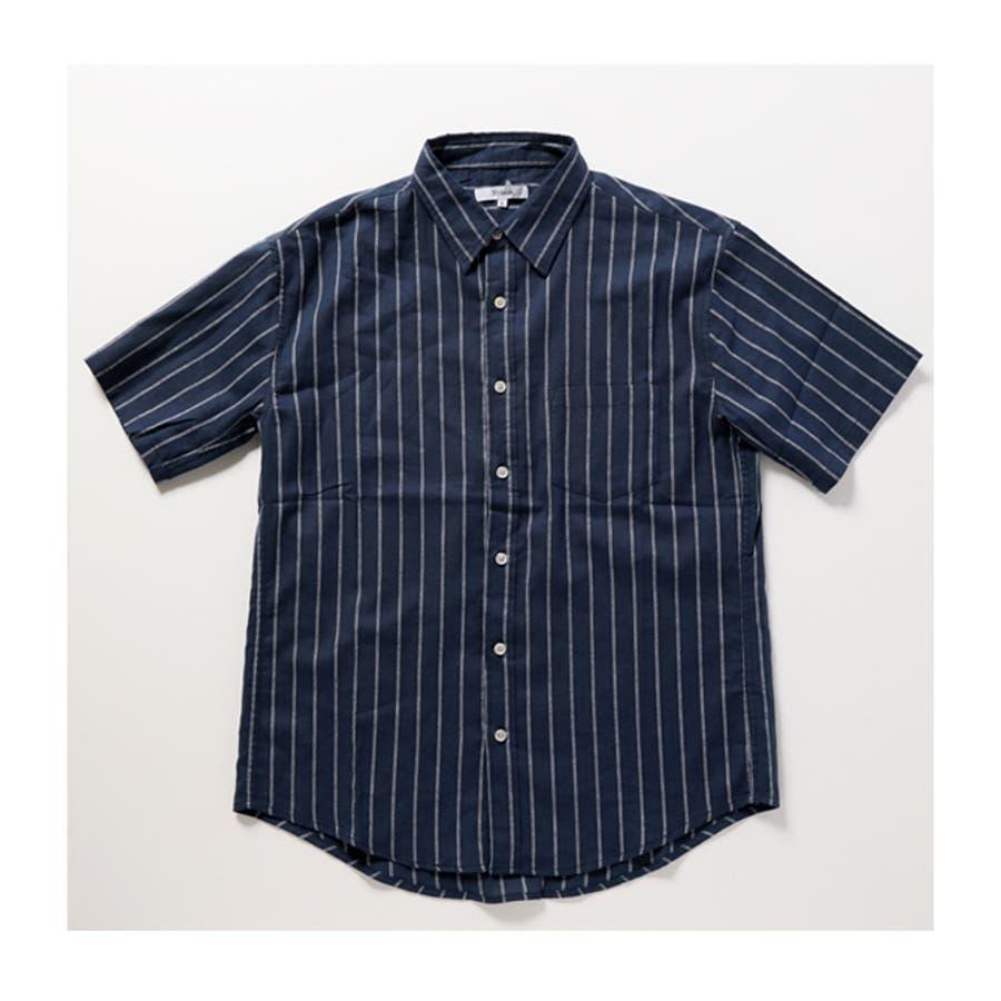 半袖シャツ メンズ リネンシャツ 4