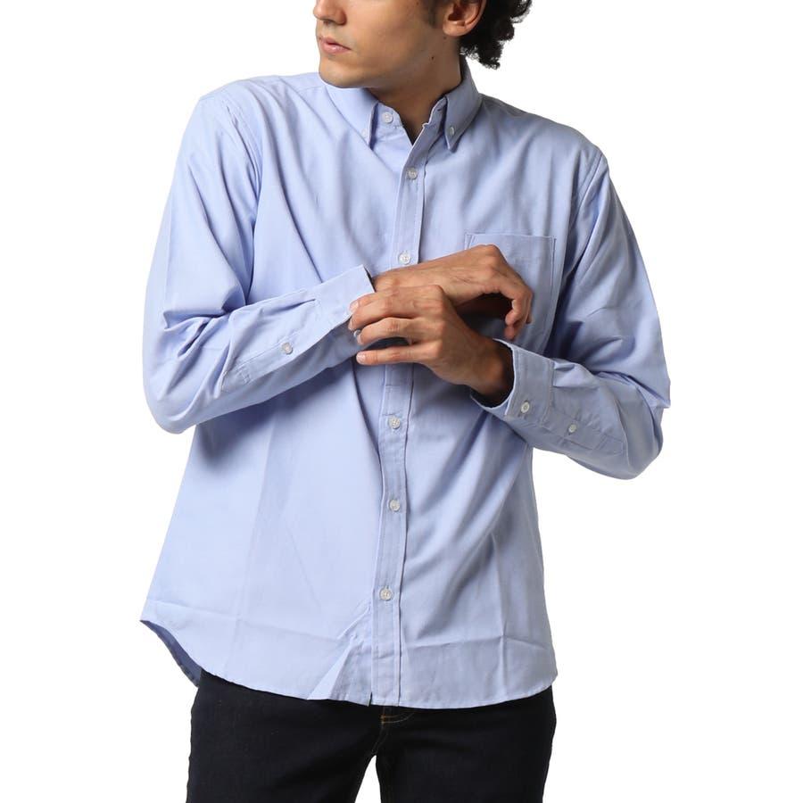 ボタンダウンシャツ 長袖 メンズ 5