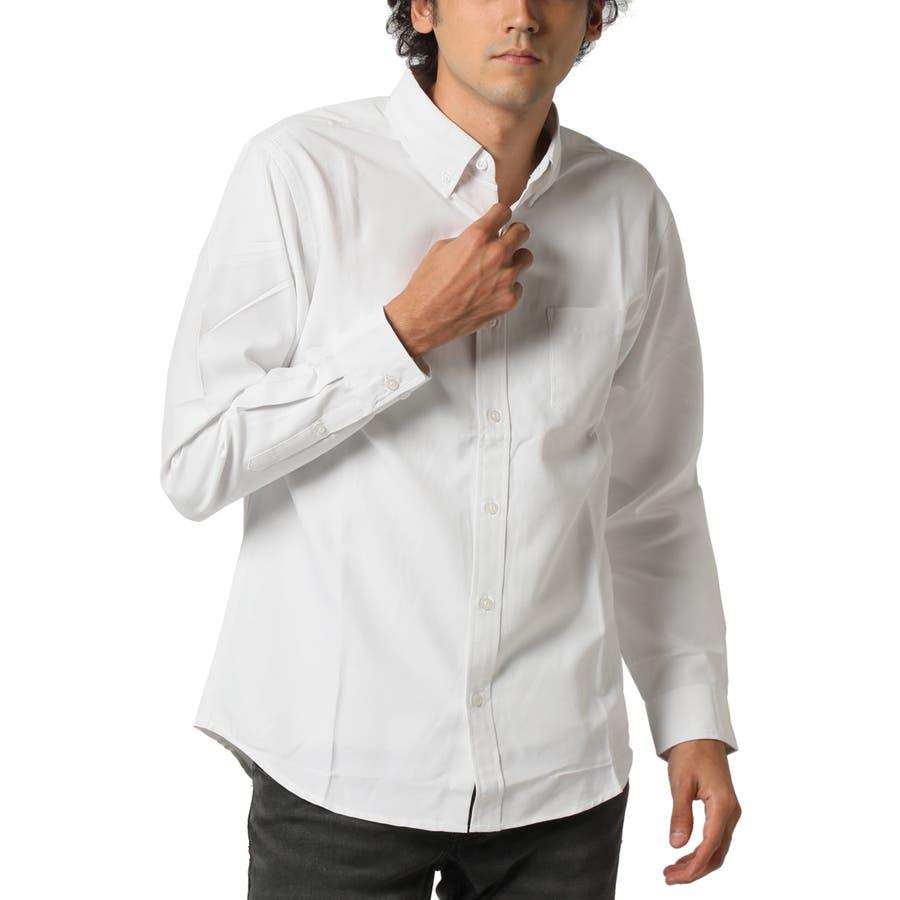 ボタンダウンシャツ 長袖 メンズ 4