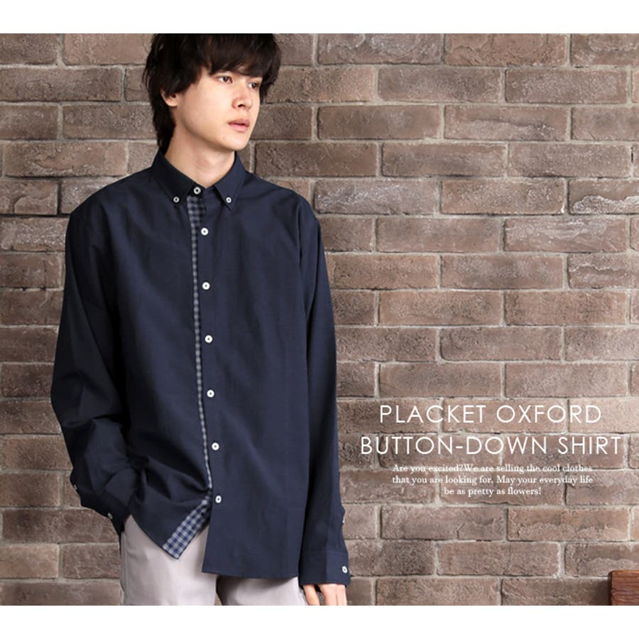 カジュアルシャツ ボタンダウンシャツ メンズ 2