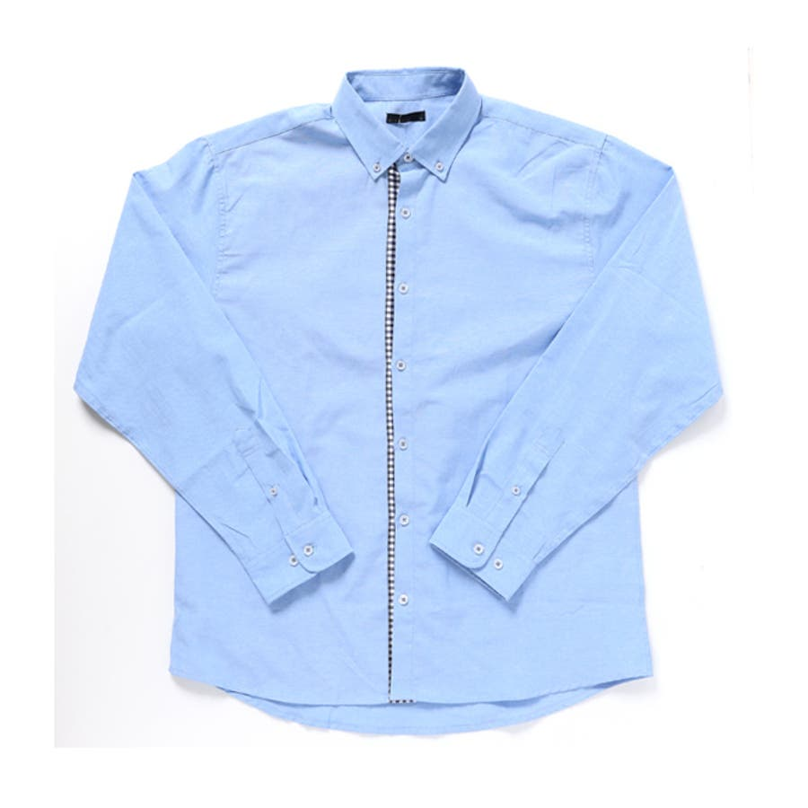 カジュアルシャツ ボタンダウンシャツ メンズ 4