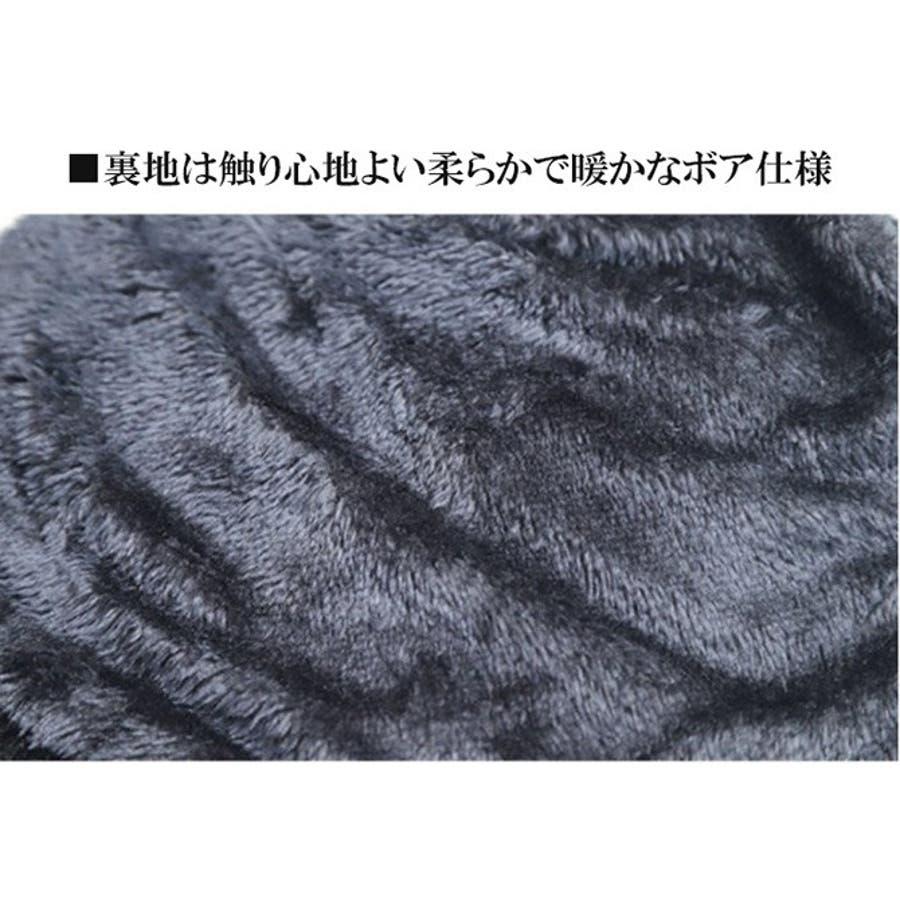 ニット帽 スヌードマフラー メンズ 4