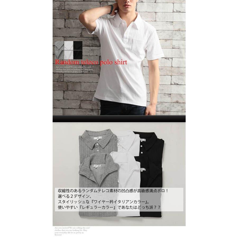 ポロシャツ メンズ 選べる2タイプ 2