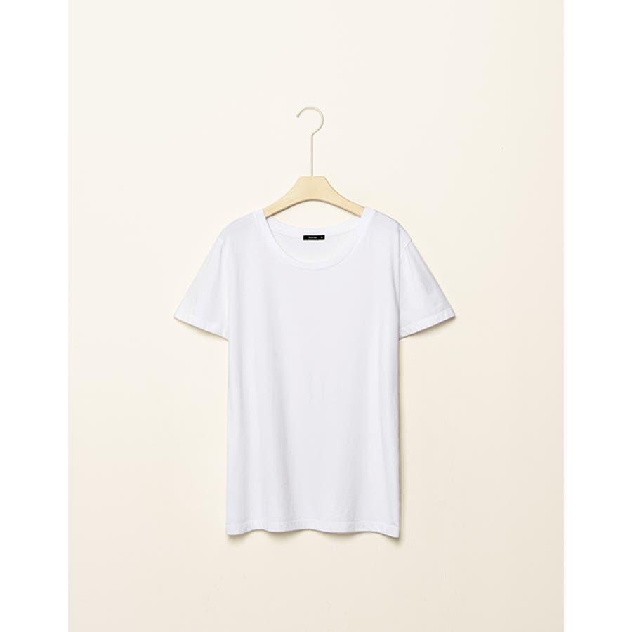 オシャレ女子はこう着てる PAZZO Tシャツ -  P40002926 護岸