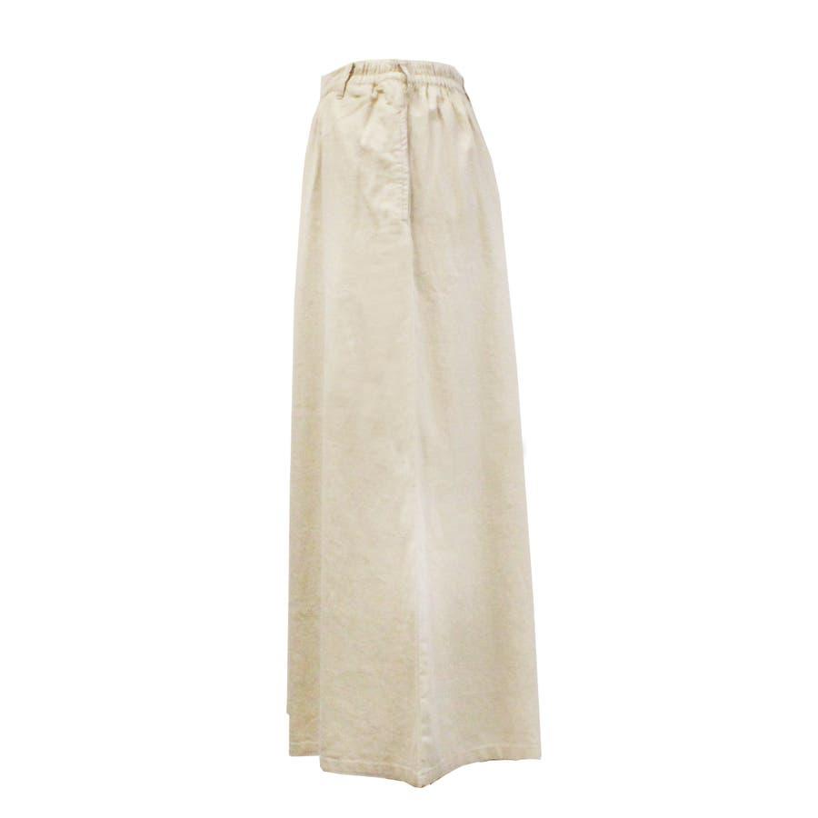 リネンギャザーワイドパンツ ワイドデザインで気になる体型をカバー レディースファッション通販 ワイド リネン M L LL 3L 4L ウエストゴム ボトム 大人カジュアル 大きいサイズ 大きめ 10
