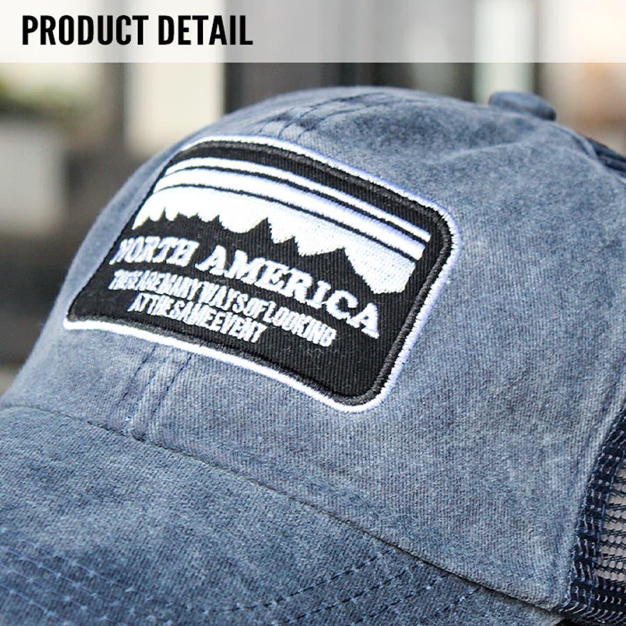 メンズ キャップ ツイルキャップ デニムキャップ 帽子 綿100% ワッペン 刺繍 mens CAP アメカジ カジュアルFサイズフリーサイズ サイズ調整可能 紳士 春夏新作「820-44」【MG10】 4