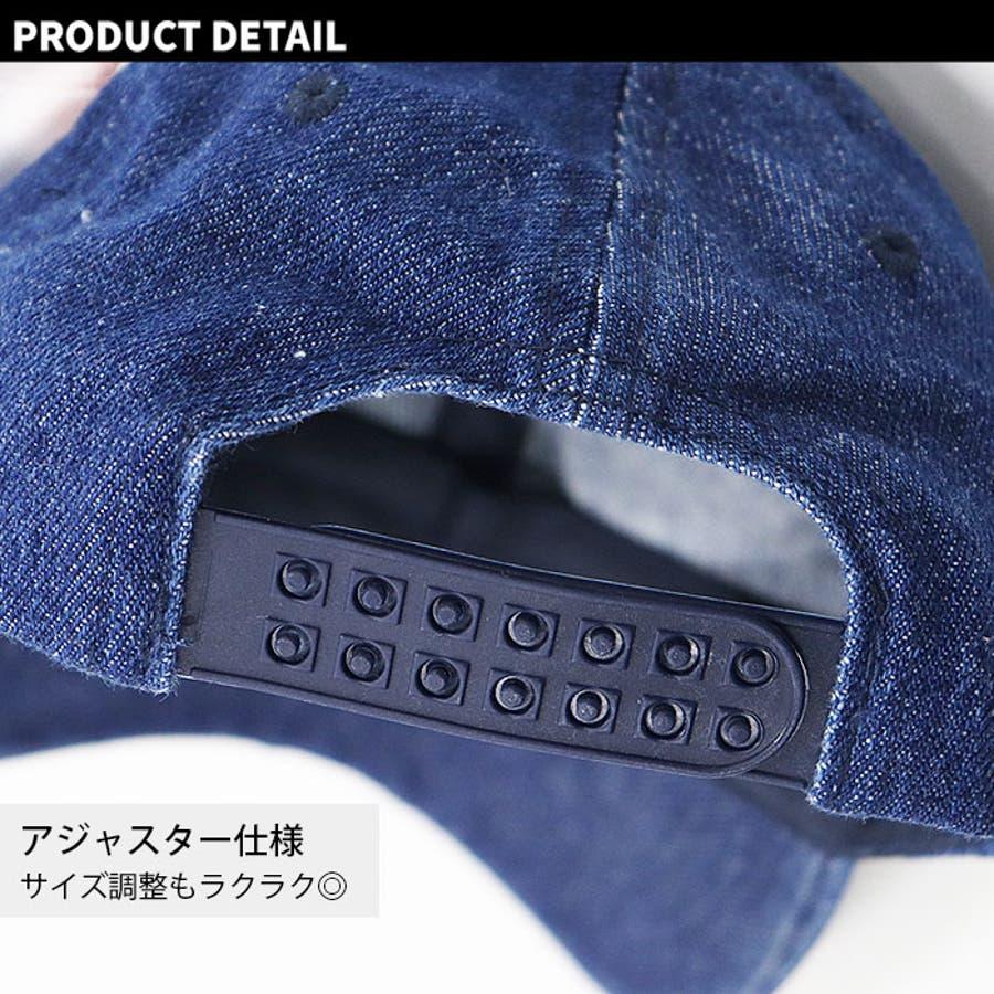 メンズ キャップ ツイルキャップ デニムキャップ 帽子 綿100% プリント mens CAP アメカジ カジュアルFサイズフリーサイズ サイズ調整可能 紳士 春夏新作「820-47」【MG10】 9