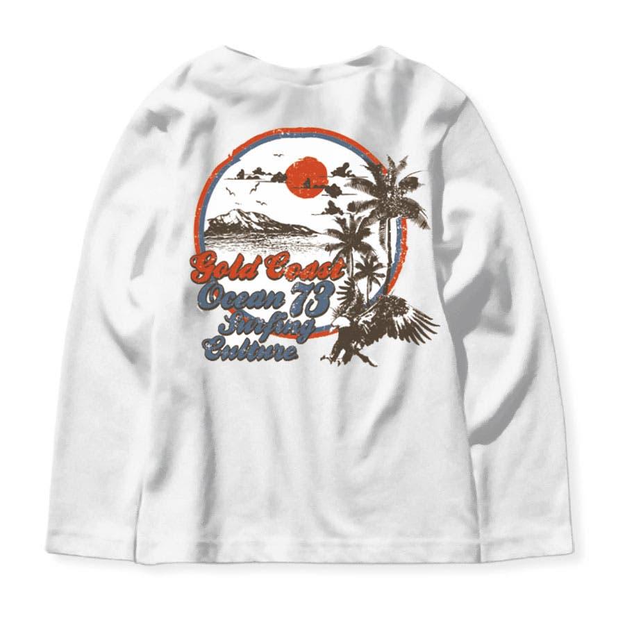キッズ 子供服 Tシャツ ロンT トップス 男の子 ボーイズ プリント ロゴ ジュニア ネブサーフ NEV スポーツ カジュアル110cm 120cm 130cm 140cm 150cm 160cm 「N40-02」 17