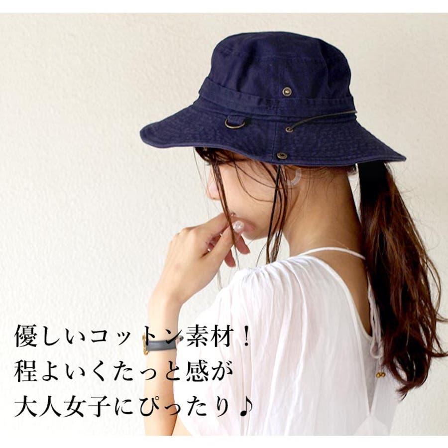 サファリハット 帽子 リボン 2