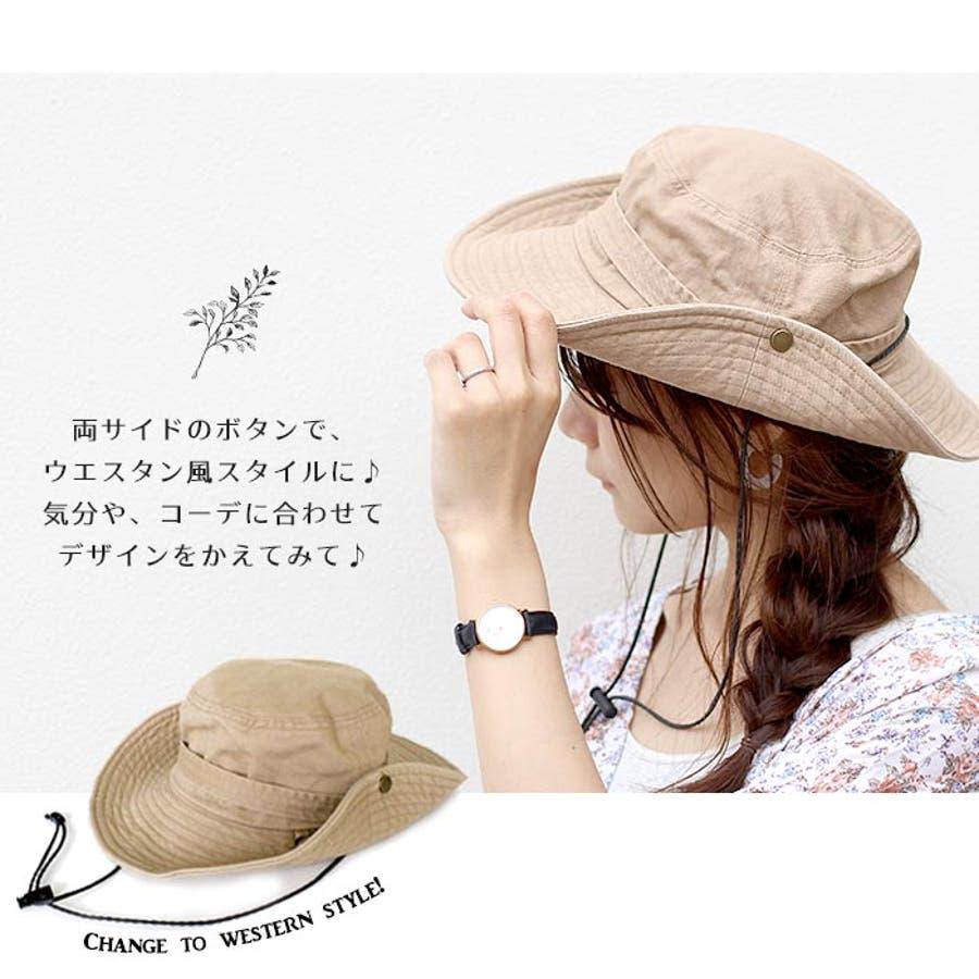 サファリハット 帽子 リボン 6