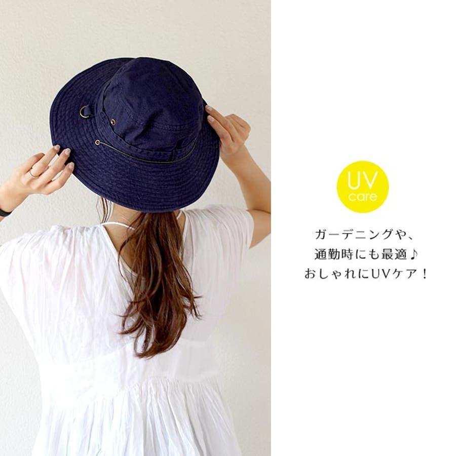サファリハット 帽子 リボン 7