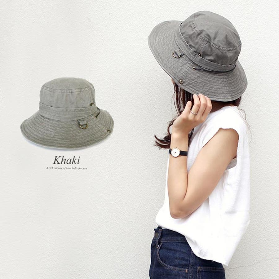 サファリハット 帽子 リボン 8