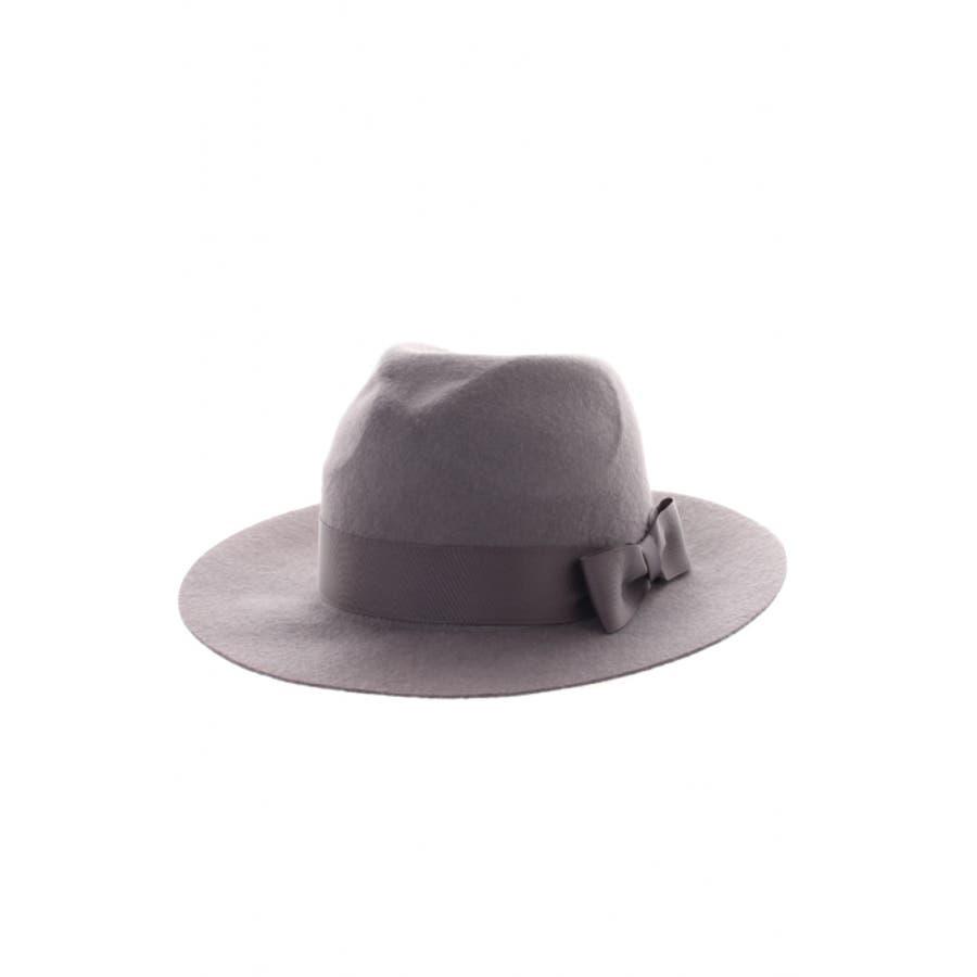 めっちゃお気に入り AZUL ENCANTO リボン付ハット AZUL ENCANTO アズール エンカント レディース HAT CAP Hat 緯度