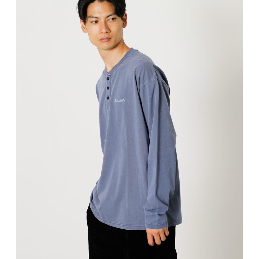 PIGMENT HENLEY LONG TEE/ピグメントヘンリーロングTシャツ 64