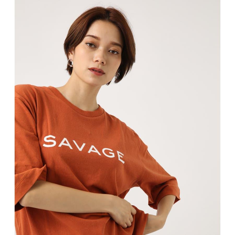 SAVAGE ルーズTEE 1