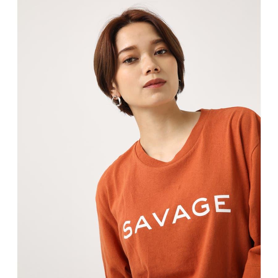 SAVAGE ルーズTEE 2