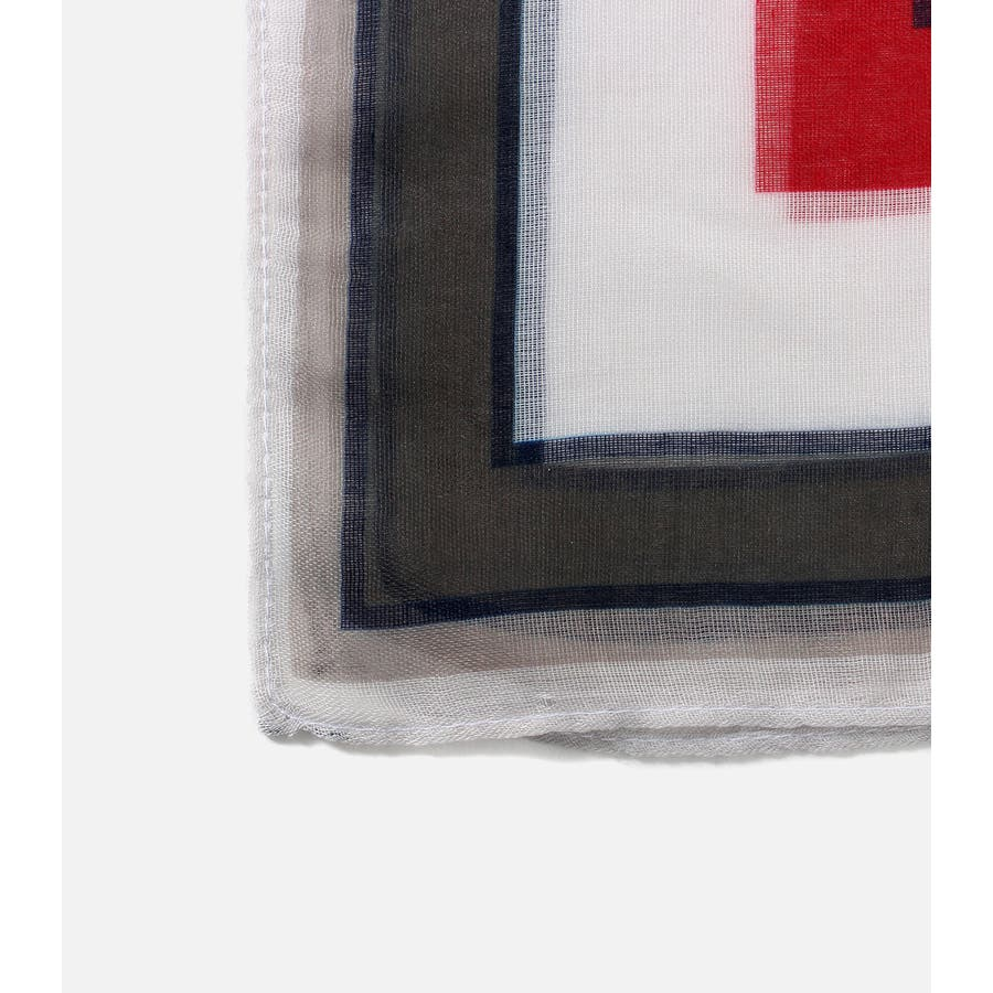 パネルマルチストライプスカーフ 2