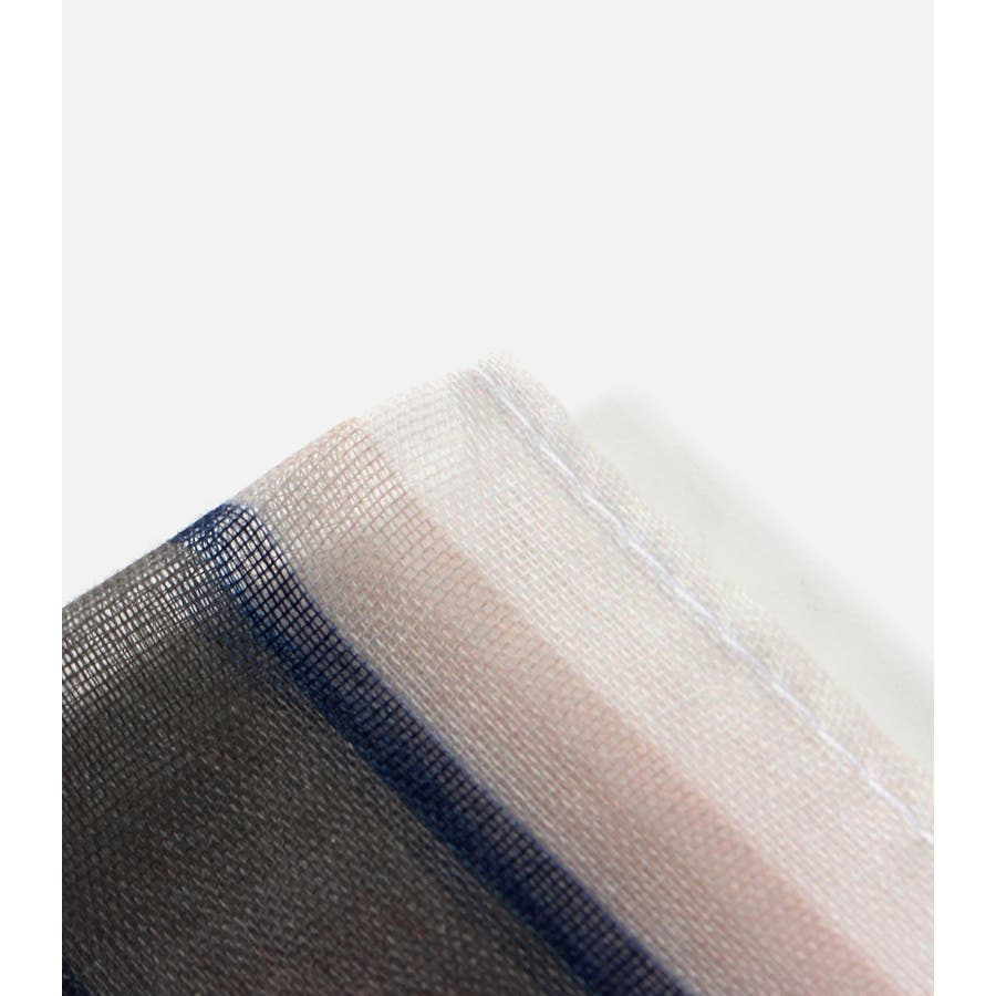 パネルマルチストライプスカーフ 8