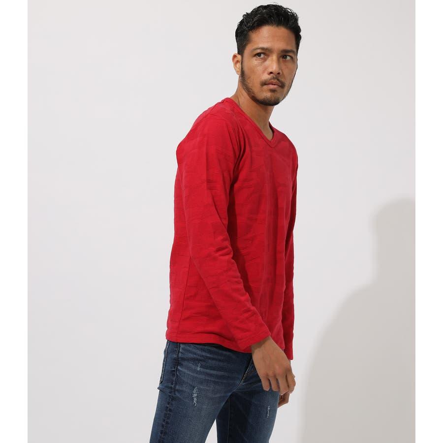 HEAVY SHADOW CAMO V/N T-SHIRT/ヘビーシャドウカモVネックティーシャツ 2