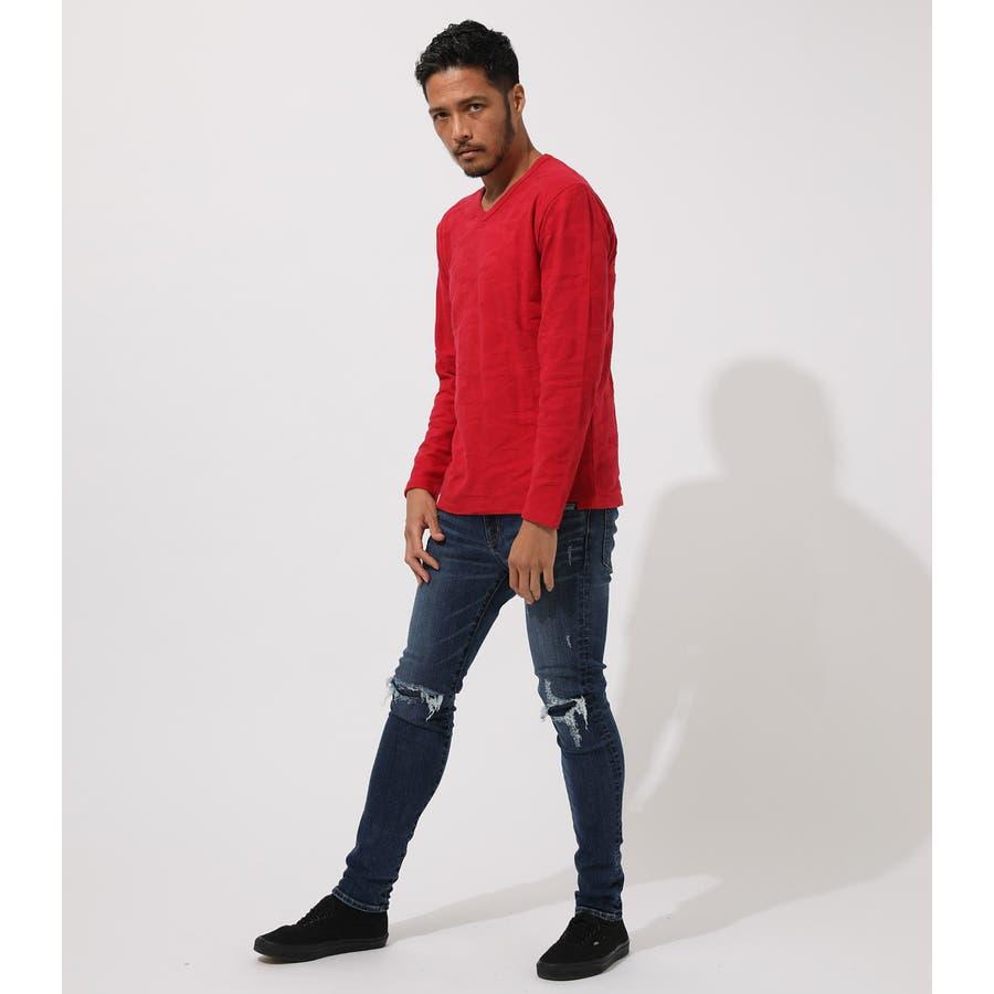 HEAVY SHADOW CAMO V/N T-SHIRT/ヘビーシャドウカモVネックティーシャツ 3