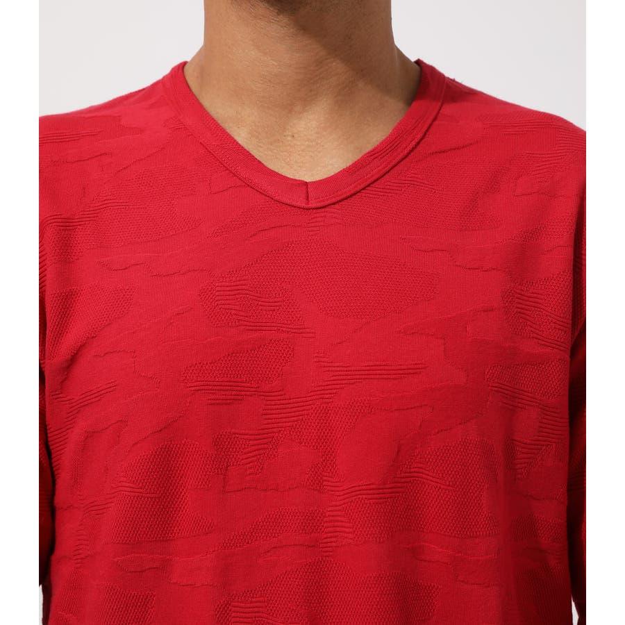 HEAVY SHADOW CAMO V/N T-SHIRT/ヘビーシャドウカモVネックティーシャツ 7