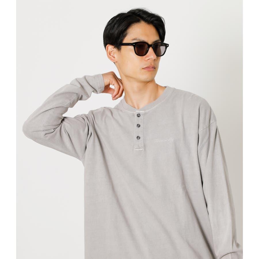 PIGMENT HENLEY LONG TEE/ピグメントヘンリーロングTシャツ 3