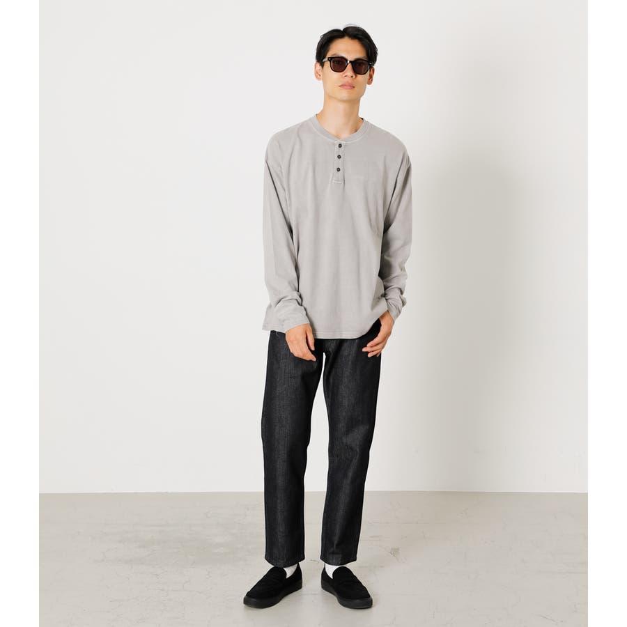 PIGMENT HENLEY LONG TEE/ピグメントヘンリーロングTシャツ 4