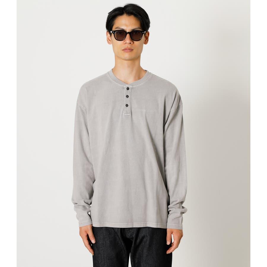 PIGMENT HENLEY LONG TEE/ピグメントヘンリーロングTシャツ 5