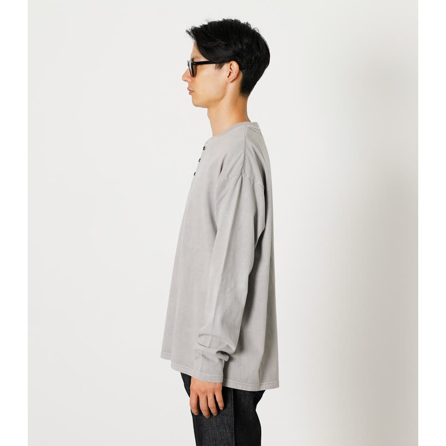 PIGMENT HENLEY LONG TEE/ピグメントヘンリーロングTシャツ 6