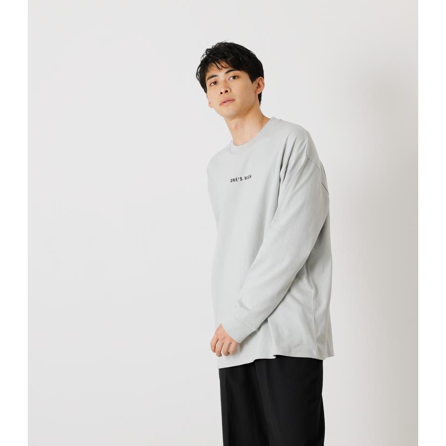 ONE'S HIGH LONG TEE/ワンズハイロングTシャツ 2